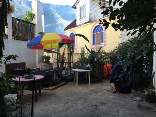 Todos Santos, Гватемала: Courtyard