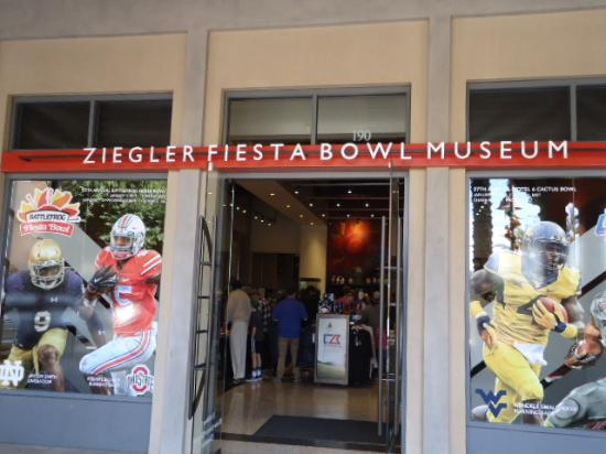 Fiesta Bowl Museum: Entrance to Museum