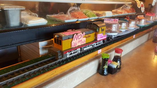 Ta img 20160227 140410 picture of sushi train for Asian cuisine restaurant tulsa