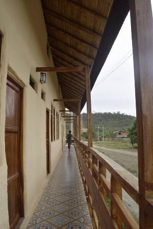 Hotel Montanita: balcon