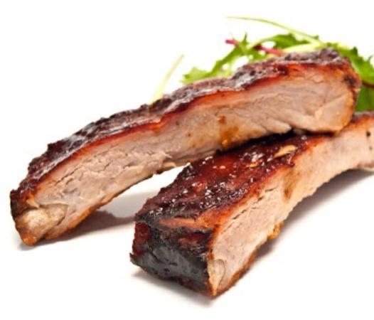 Farmingdale, Νέα Υόρκη: Hickory Smoked Baby Back BBQ Ribs