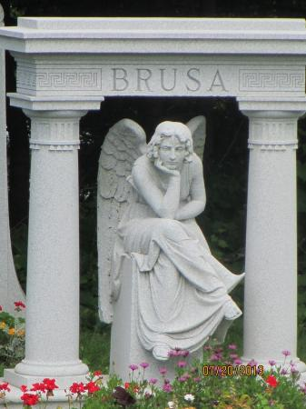Barre, VT: Angel Monument in Hope Cemetery