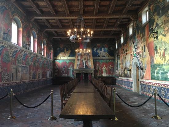 Castello di Amorosa: Dinner time