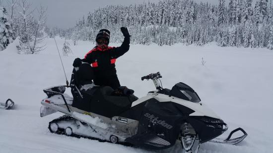 Rainbow Mountain: Callaghan Snowmobile Adventure -
