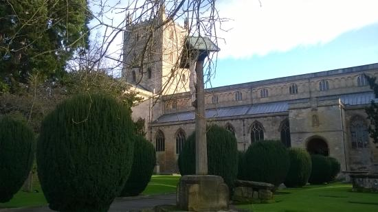 Tewkesbury Abbey: The Abbey grounds