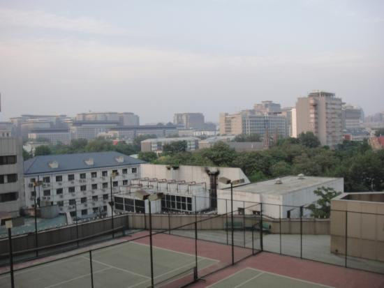 Capital Hotel Beijing: Blick aus dem Fenster rückseitig