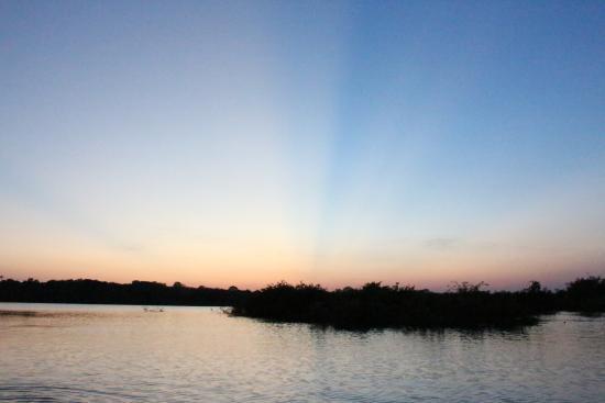 Tariri Amazon Lodge: tramonto