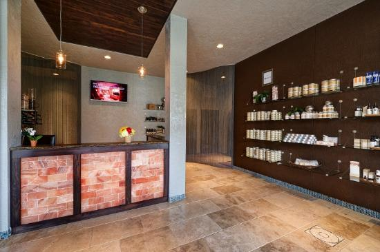 Boerne, TX: Puresol Spa - Reception