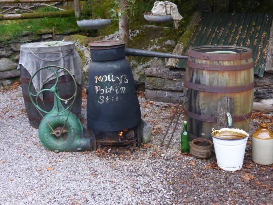 Kenmare, Irland: The Poitin Still used for a  Homemade Spirit from Potatoes