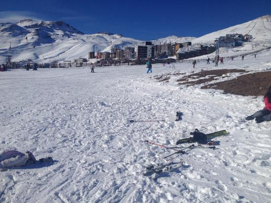 Colorado Apart Hotel : a diversão durante o dia...esquiar