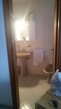 Albergo Ristorante Da Rosanna: bagno