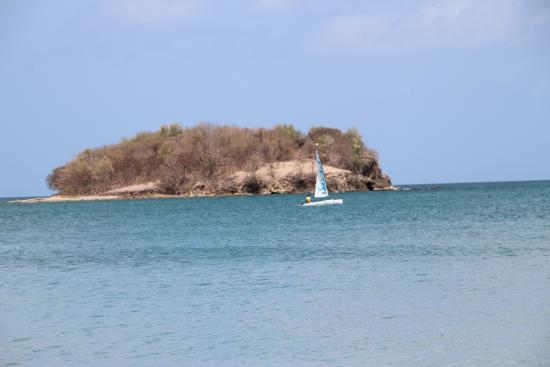 Choc, St. Lucia: Sailboat from Sandals in the Bay