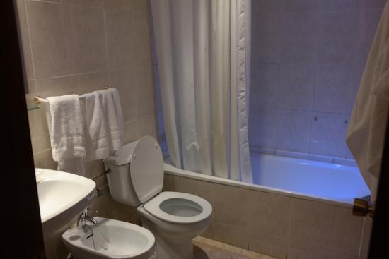 Hotel California: Koupelna