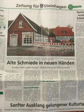 Steinhagen, Almanya: Alte Schmiede