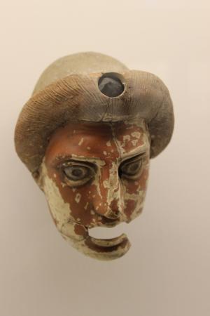 Lipari, Italia: maschera di giovane