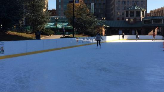 Fleet Skating Center: Pista