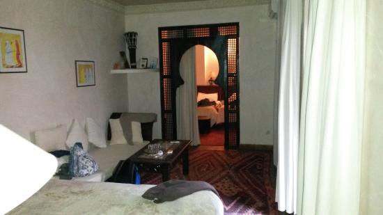 Riad Massiba: la nostra camera al primo piano