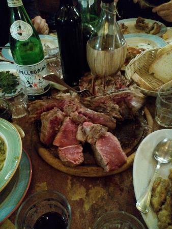 All'Antico Ristoro Di Cambi: bistecca