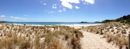 Ocean Beach: Panorama from the walkway