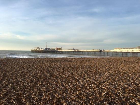Brighton House: The pier