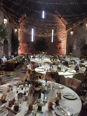 Spanish Barn Reception Picture Of Torre Abbey Tea Room Torquay