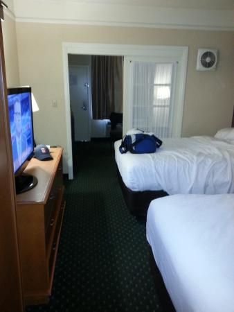 bedroom picture of quality suites san diego seaworld area san rh tripadvisor com