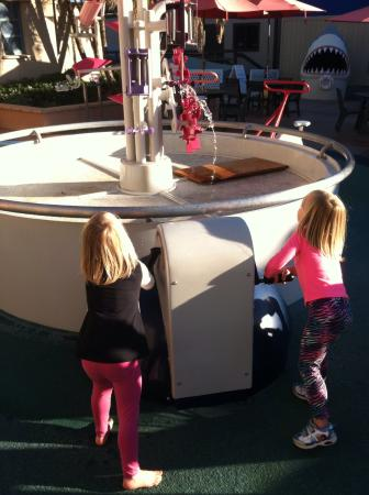 Birch Aquarium at Scripps: A water table