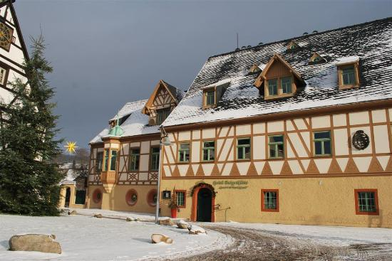 Hotel Saigerhütte: Haus des Anrichters (Frühstück)