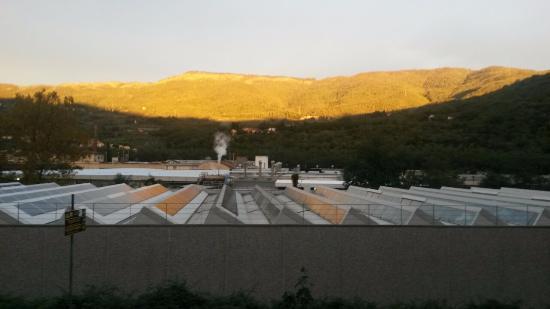 Vaiano, Itália: La vallata che produce