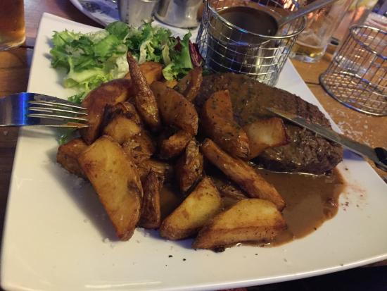 Broughton-in-Furness, UK: Barrel Steak