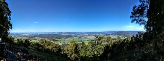 Vacy, Australia: View from hilltop