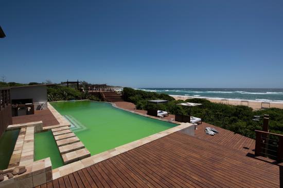 Zitundo, Mozambique : Pool area