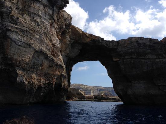 Bugibba, Malta: Blue caves in Gozo
