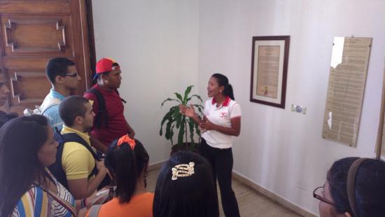 Cumana, Βενεζουέλα: Charla de Bienvenida
