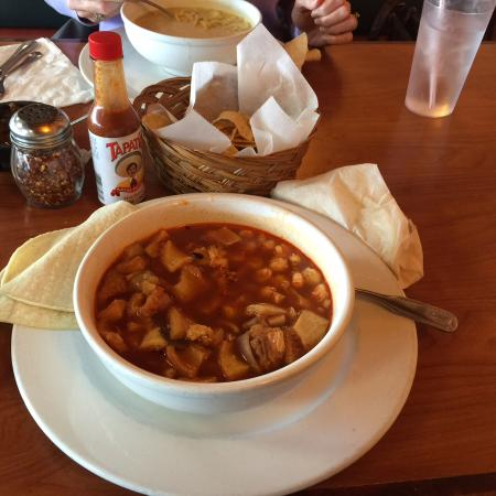 Casa De Lucy Mexican Restaurant Menudo Soup My Hubby S Favorite It Also Comes