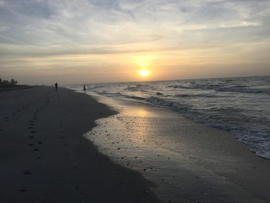 Pine Cove of Sanibel: Sunrise on the beach in front of Pine Cove