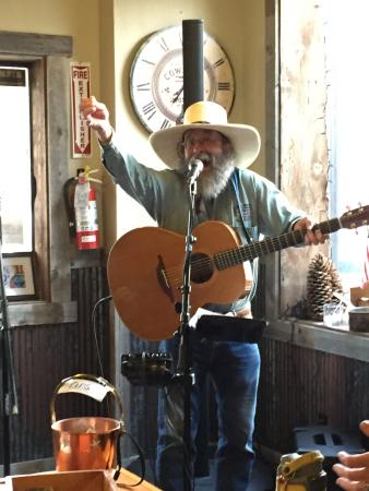 Paul Boruff, one of the Friday night musicians