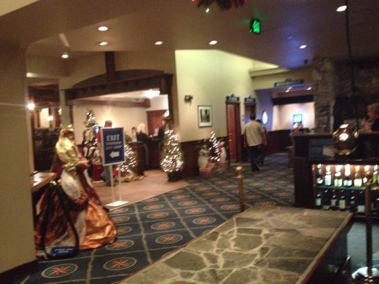 Captain George S Seafood Restaurant Lobby
