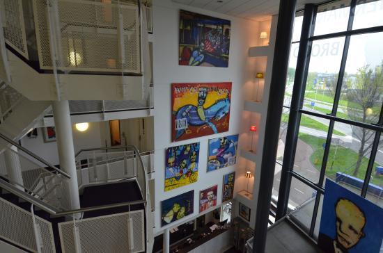 WestCord Art Hotel Amsterdam: Hotel Foyer