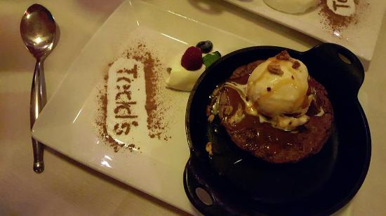 Todd's Unique Dining: Dessert was incredible...