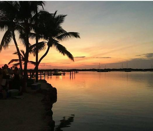 Coconut Palm Inn: A Keys Sunset