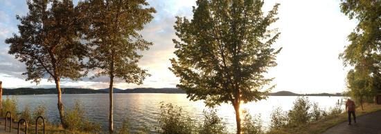 Coeur d'Alene City Park and Independence Point: The beauty of spring on Lake CoeurDeAlene