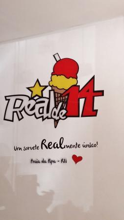 Sorveteria Real de 14: Logo da sorveteria