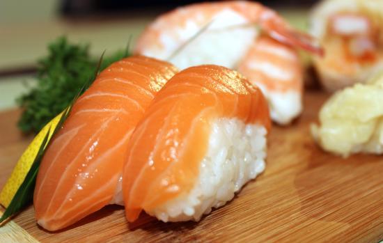 Sushi kamikaze: Sushi