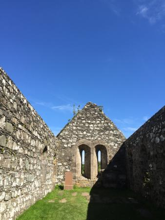 Port Ellen, UK: inside the church