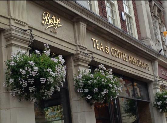 Bettys Tea Room York Booking