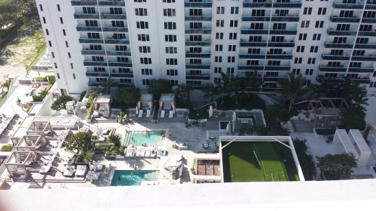 Roney Plaza Apartments: View from the top
