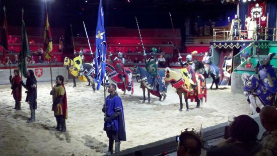 Inside The Arena Picture Of Meval Times Dinner Tournament