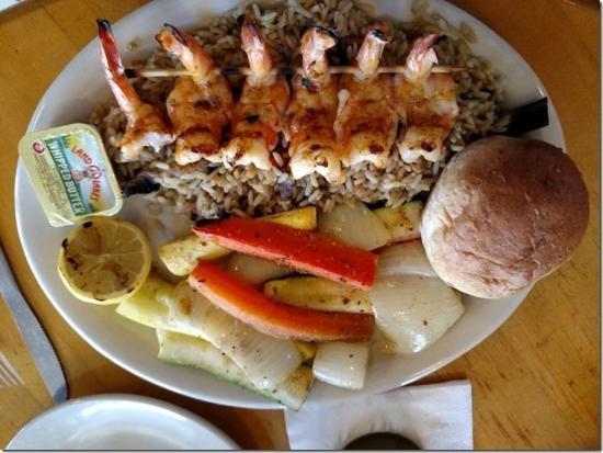 Blackbeard S Restaurant Shrimp Plate