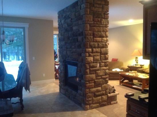 Stanwood, MI: Fireplace